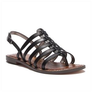 Sam Edelman Strappy Gladiator Sandal Size 8Leather